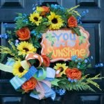 Beautiful Front Door Decoration For Fall 236