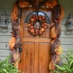 Beautiful Front Door Decoration For Fall 238
