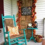 Beautiful Front Door Decoration For Fall 247