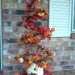 Beautiful Front Door Decoration For Fall 263