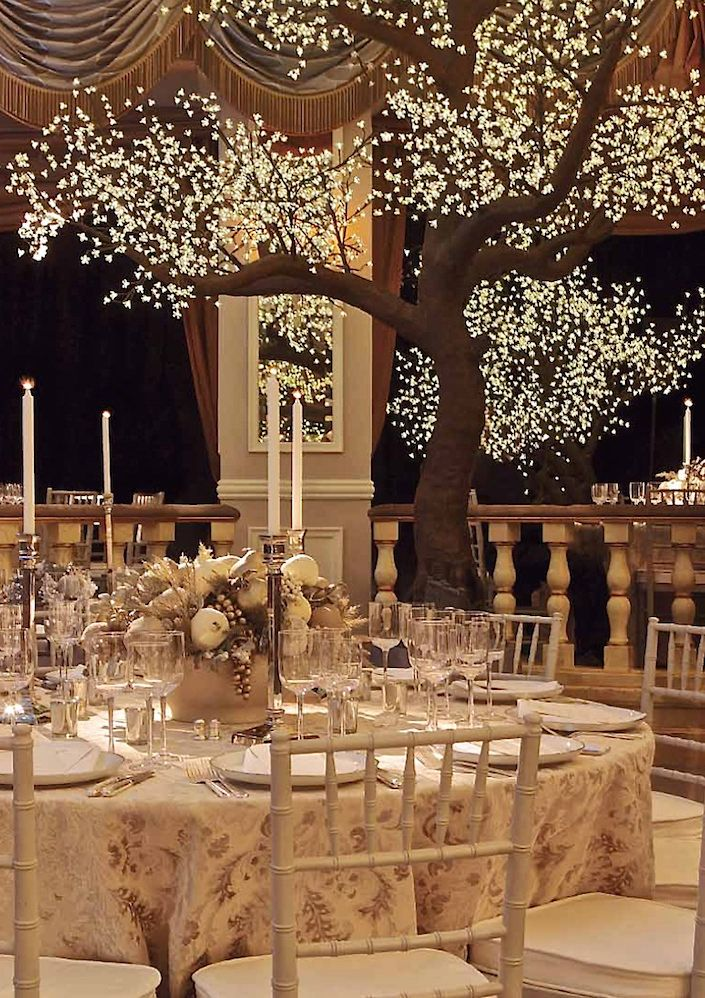 Brilliant Beautiful Winter Wedding Decoration Ideas