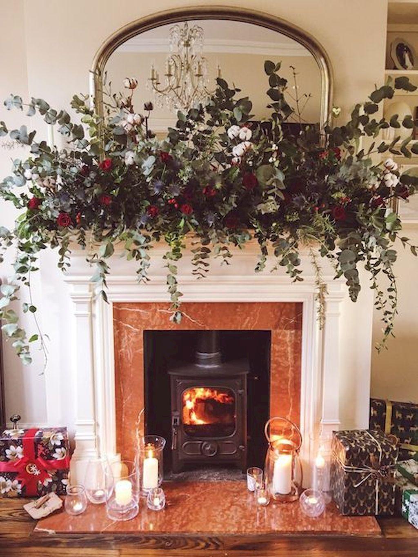Brilliant Christmas Garland Decorating Ideas 030