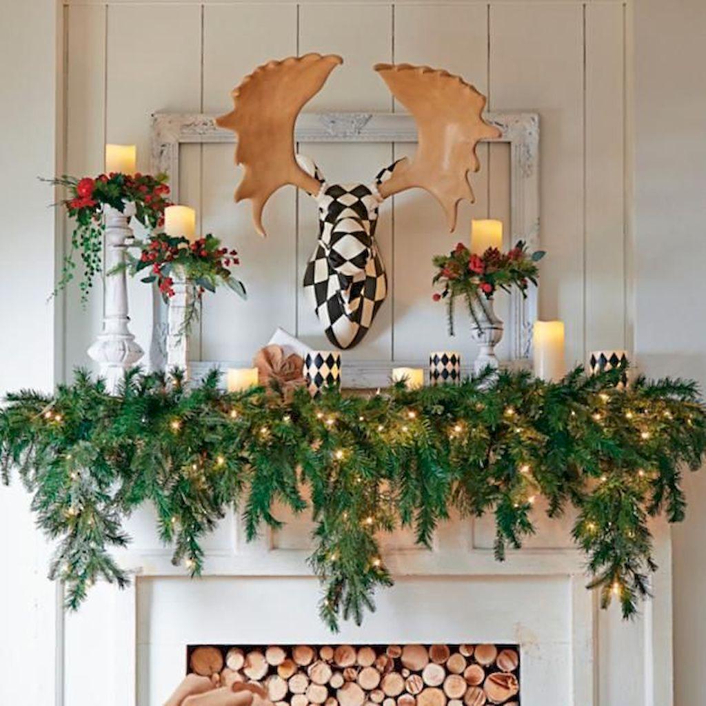 Brilliant Christmas Garland Decorating Ideas 036