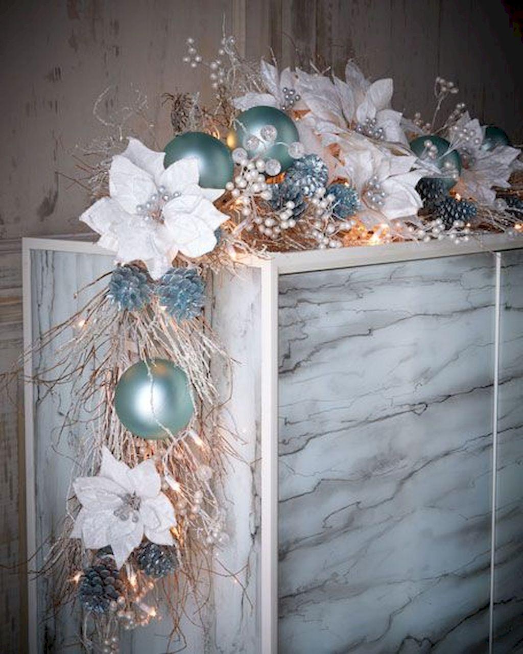 Brilliant Christmas Garland Decorating Ideas 064