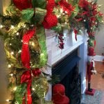 Brilliant Christmas Garland Decorating Ideas 133