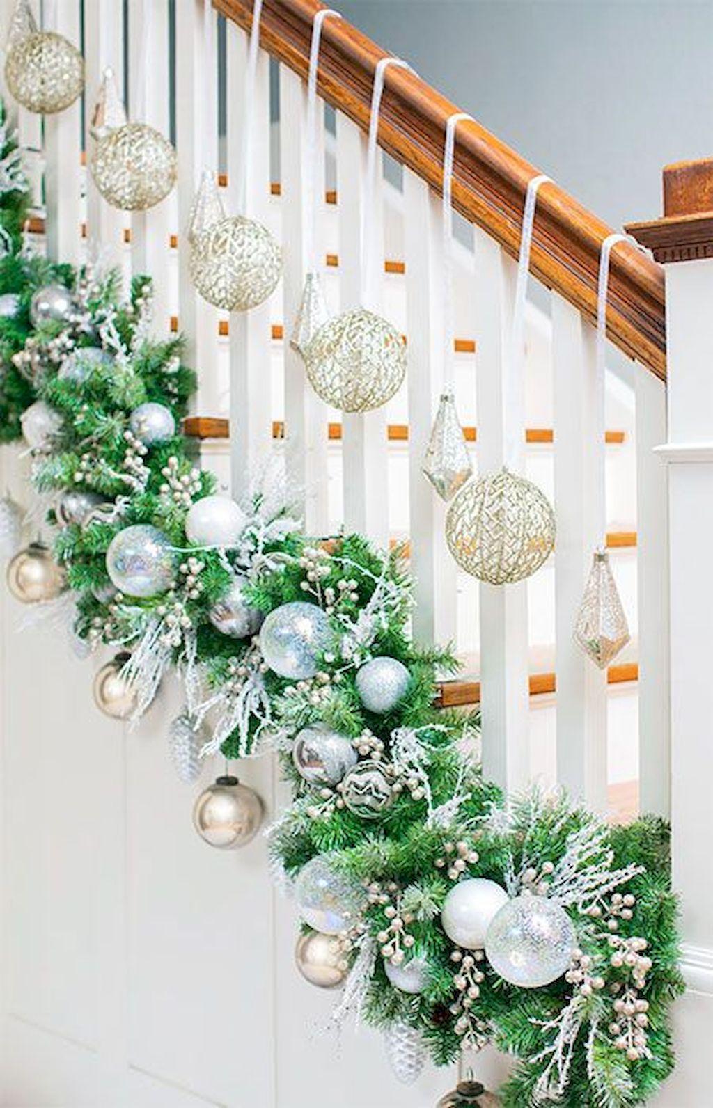 Brilliant Christmas Garland Decorating Ideas 221