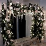 Brilliant Christmas Garland Decorating Ideas 234