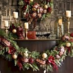 Brilliant Christmas Garland Decorating Ideas 240