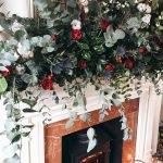Brilliant Christmas Garland Decorating Ideas 248