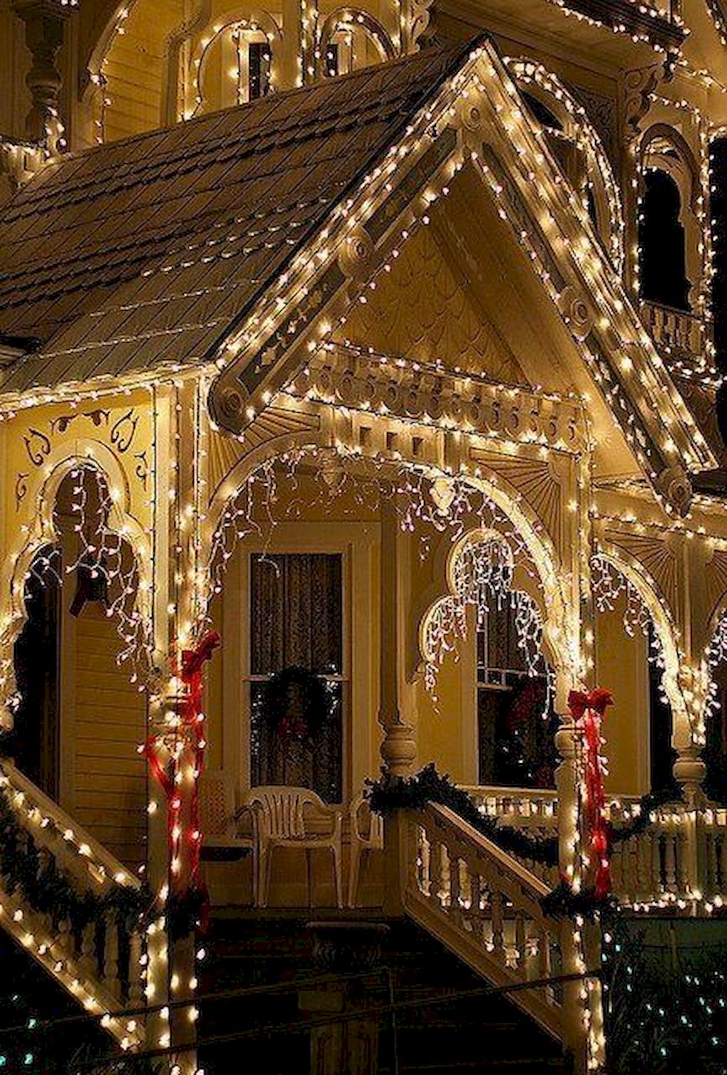 Brilliant Outdoor Christmas Lights Decoration Ideas