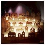 Christmas Village Window Display Ideas