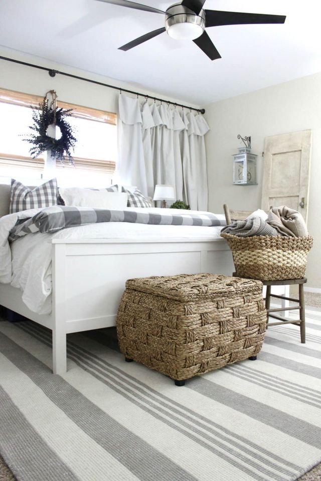 Comfy and Cozy with a Farmhouse Charm