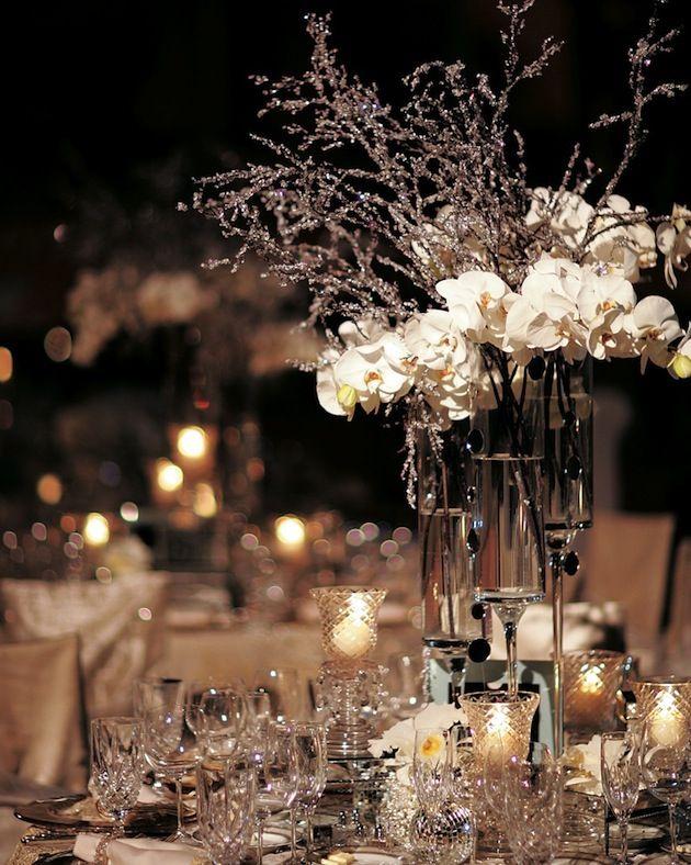 Cool Beautiful Winter Wedding Decoration Ideas