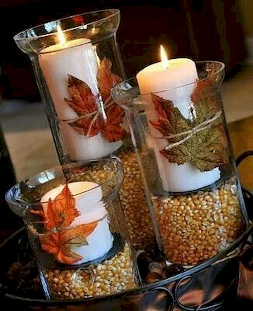 Cool Thanksgiving Candle Displays Ideas And Placements