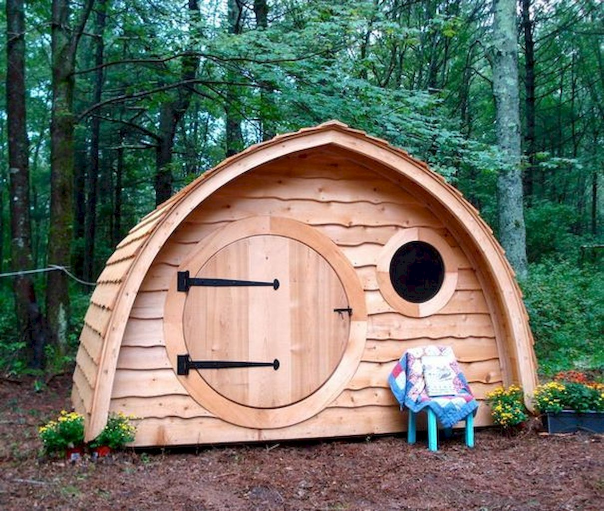 Dazzling Playhouse Plan Into Your Existing Backyard Space