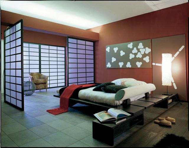 Decorating Ideas Modern Japanese style bedrooms 1
