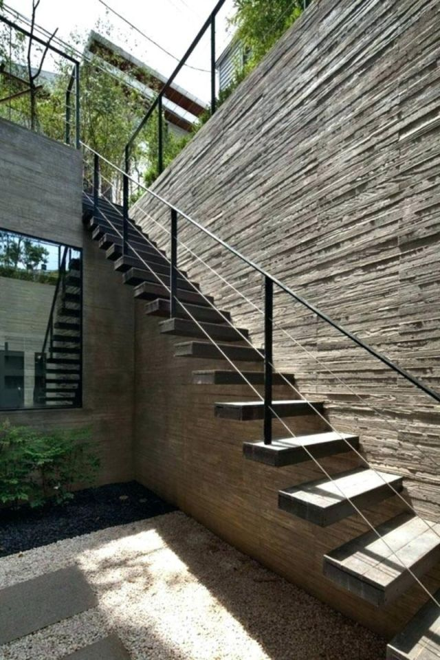 Design of Outdoor Industrial Stairs 1