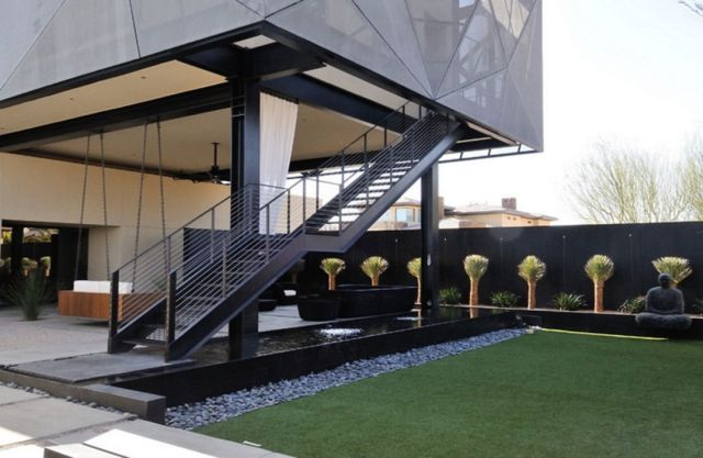 Design of Outdoor Industrial Stairs 2