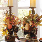 Fascinating Thanksgiving Candle Displays Ideas And Placements