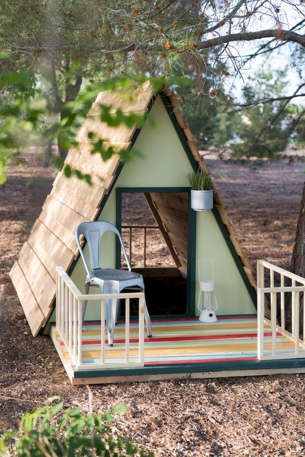 Fine Playhouse Plan Into Your Existing Backyard Space