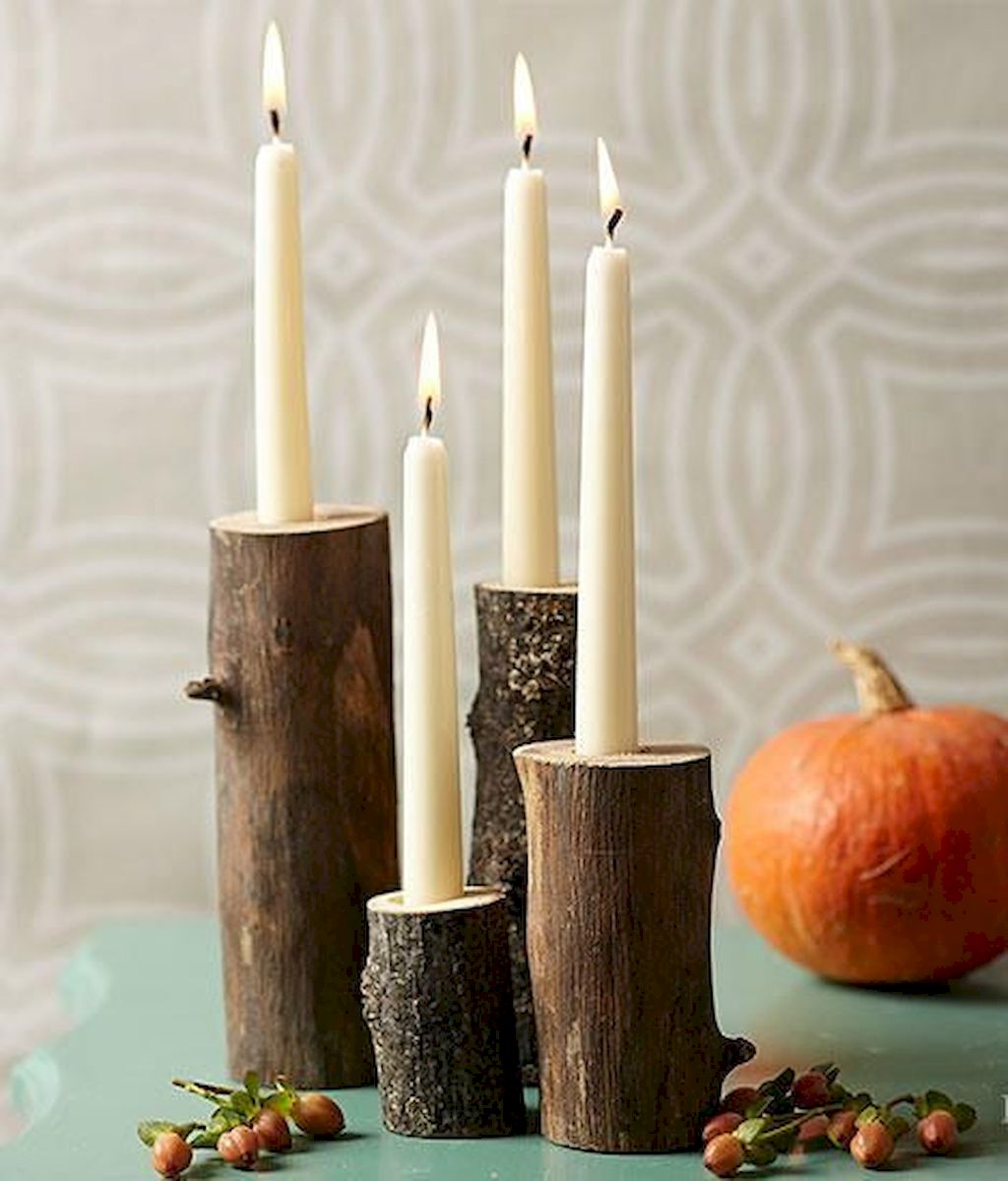 Fine Thanksgiving Candle Displays Ideas And Placements