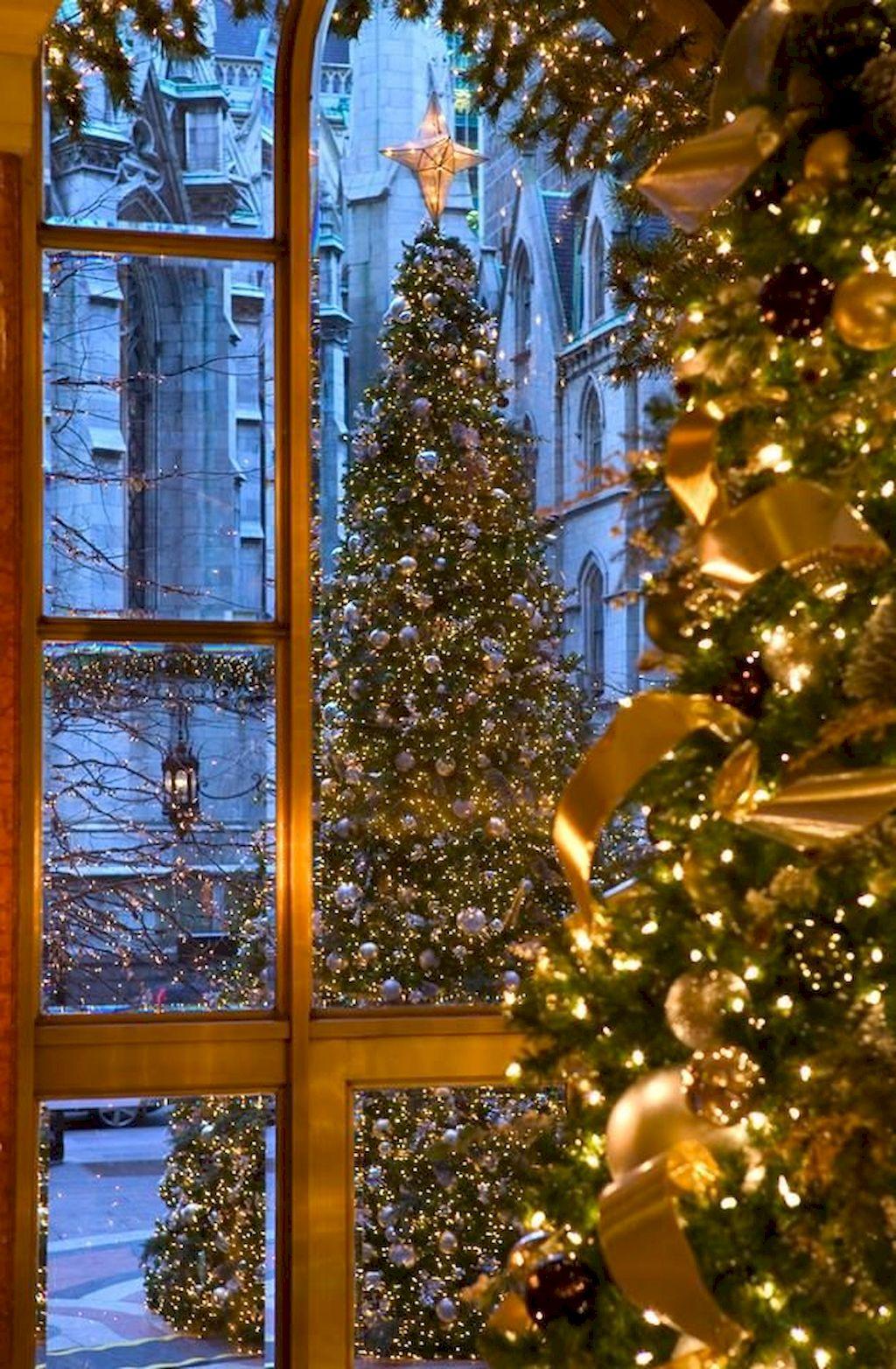 Glorious Outdoor Christmas Lights Decoration Ideas