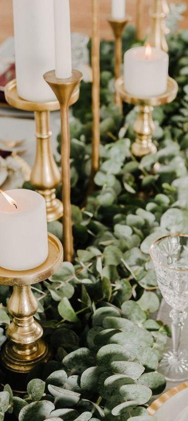 Gorgeous Beautiful Winter Wedding Decoration Ideas