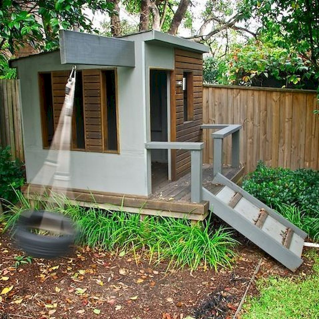 Impressive Playhouse Plan Into Your Existing Backyard Space