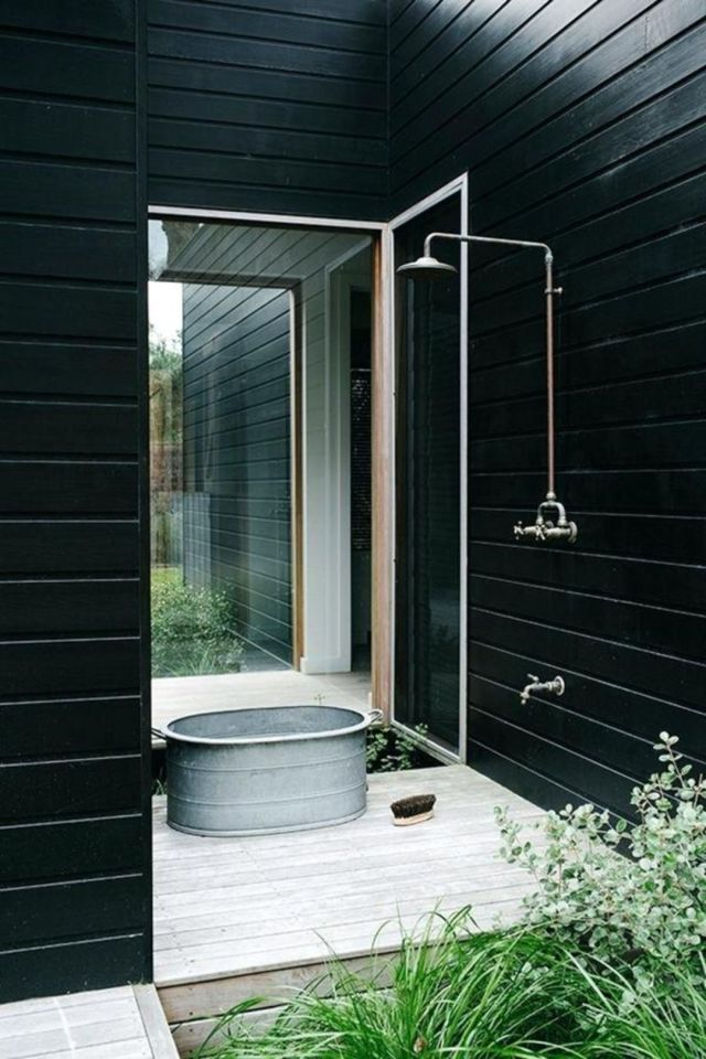 Industrial Style Outdoor Bathroom 2