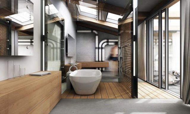 Industrial Style Outdoor Bathroom 4