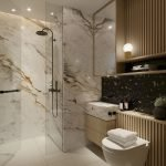 Luxurious Stylish Color Scheme For Your Bathroom
