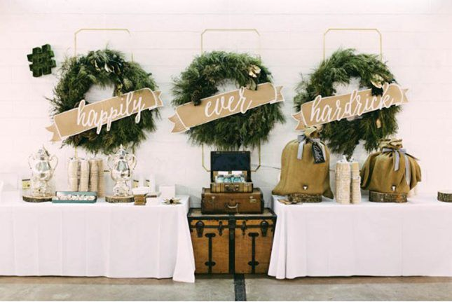 Magnificent Beautiful Winter Wedding Decoration Ideas