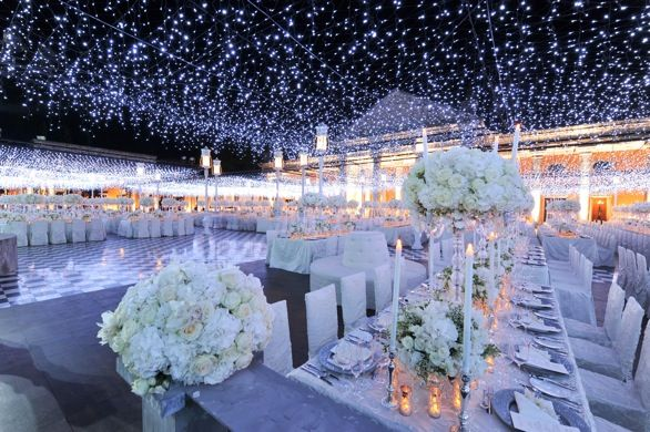 Marvelous Beautiful Winter Wedding Decoration Ideas