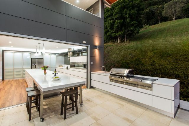 Modern Style Outdoor Kitchen 5