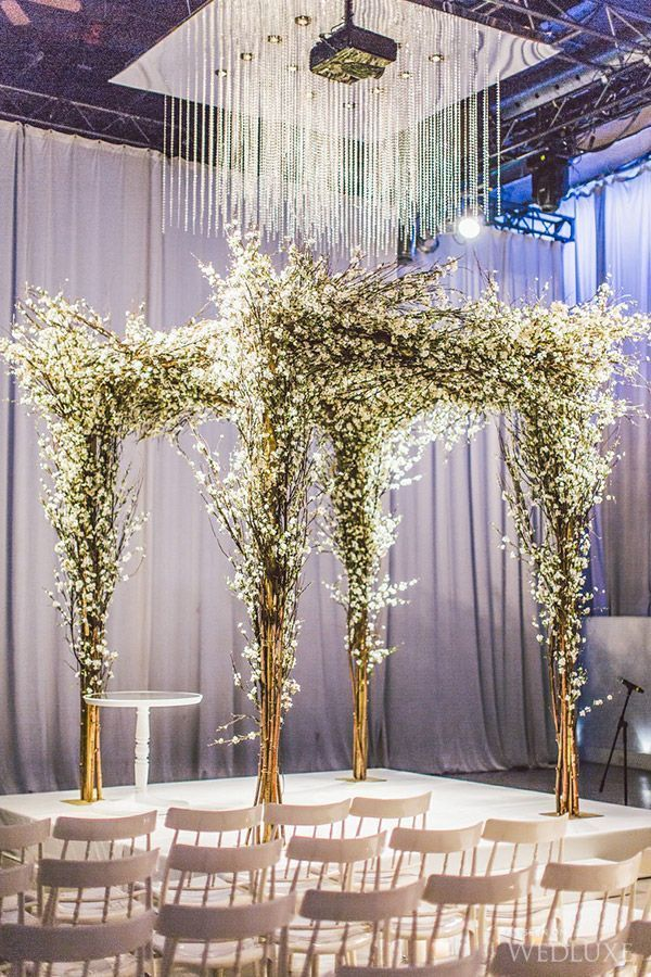 Nice Beautiful Winter Wedding Decoration Ideas