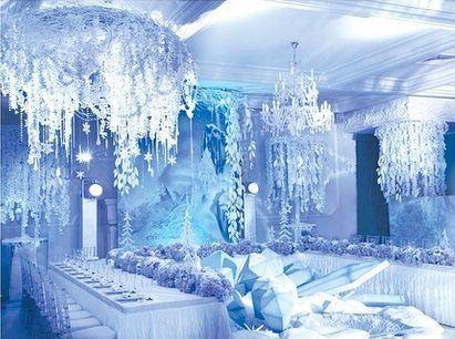 Perfect Beautiful Winter Wedding Decoration Ideas