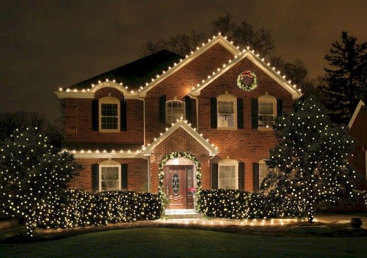 Prodigious Outdoor Christmas Lights Decoration Ideas