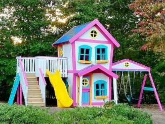 Ravishing Playhouse Plan Into Your Existing Backyard Space