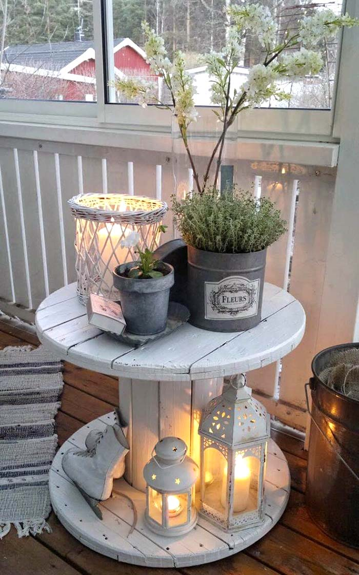 Rustic Front Porch Decor #farmhouse #rustic #porch #decor #decorhomeideas