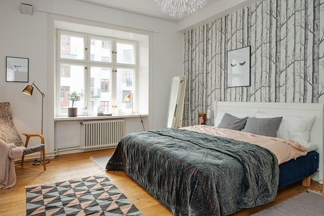 Scandinavia Industrial Bedroom Design Ideas 2