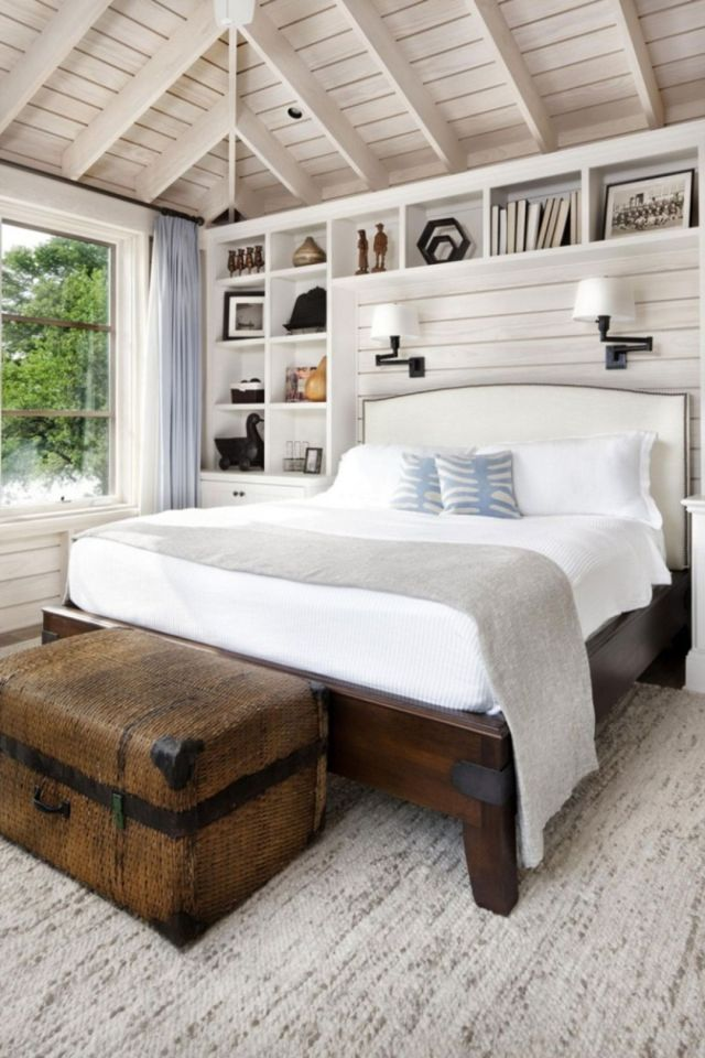 Scandinavian Rustic Bedroom Design Ideas 2