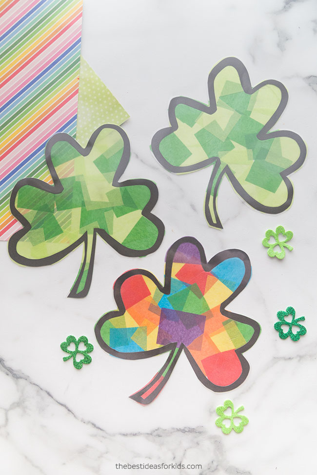 Printables St. Patrick Day Crafts for Kids