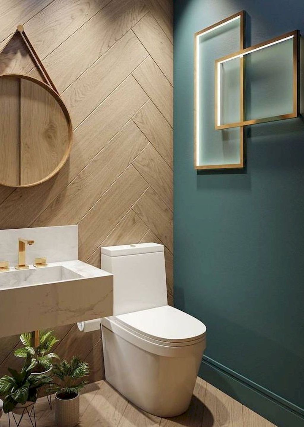 Shocking Stylish Color Scheme For Your Bathroom