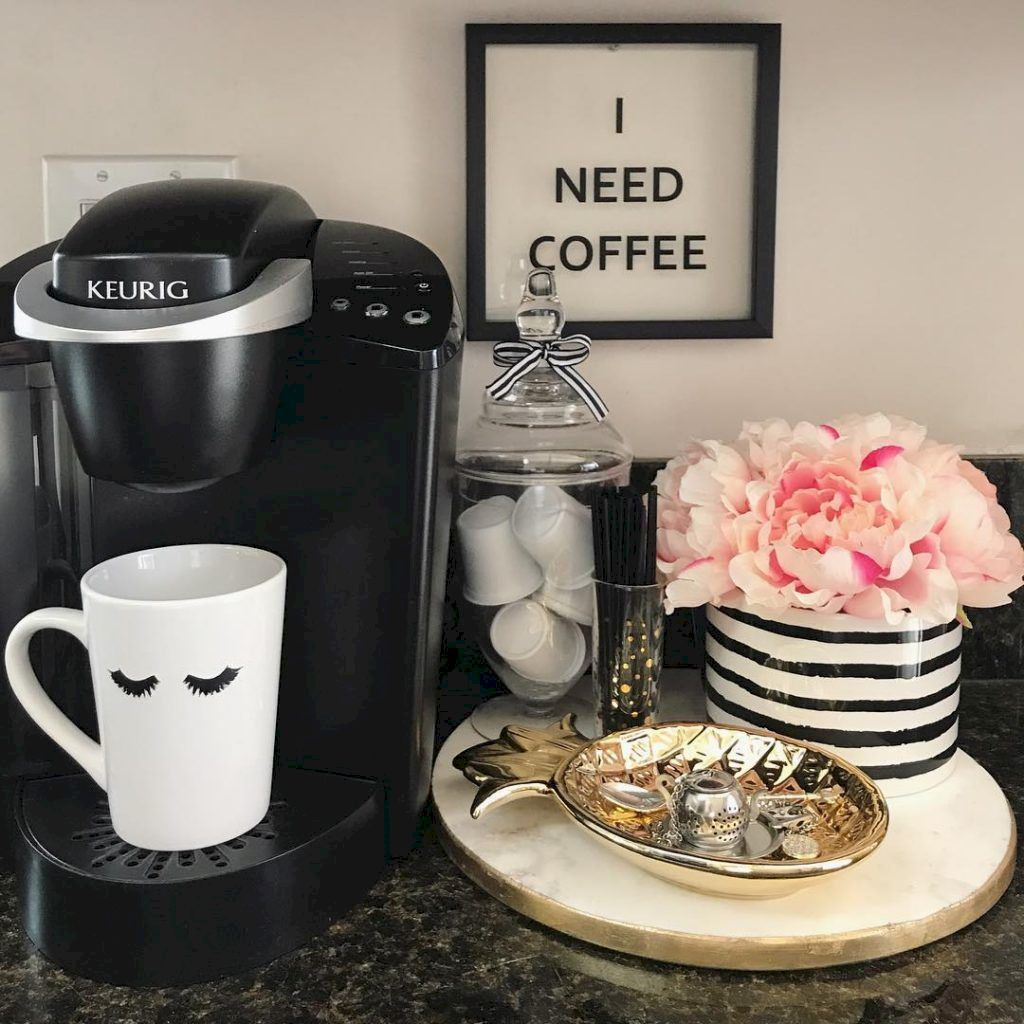 Simple Coffee Kitchen Decor