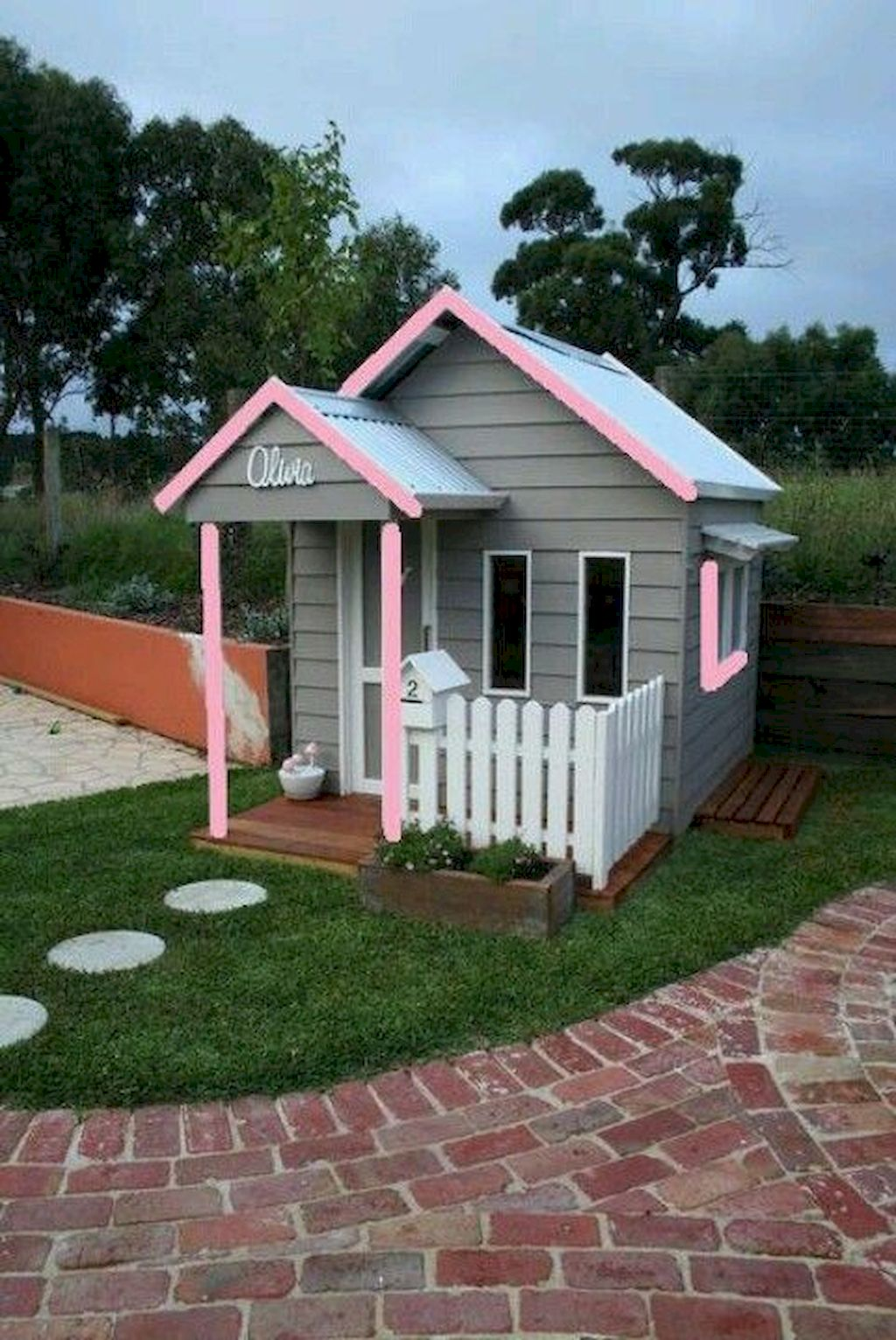 Spectacular Playhouse Plan Into Your Existing Backyard Space