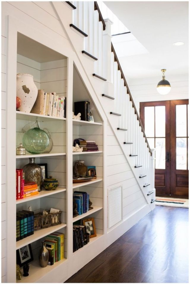 Stair Design Ideas and Minimalist Home Storage Places 3