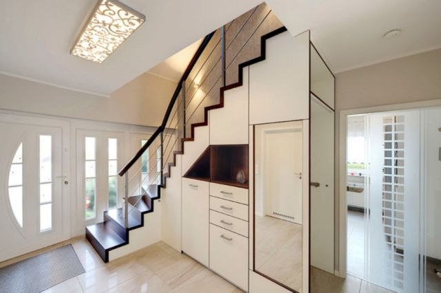 Stair Design Ideas and Minimalist Home Storage Places 5