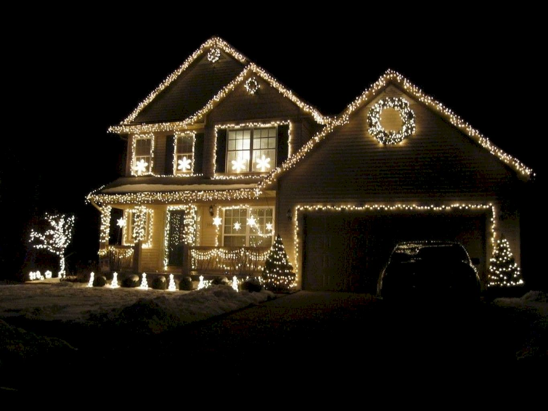 Sumptuous Outdoor Christmas Lights Decoration Ideas