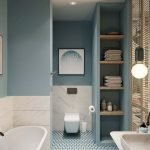 Surprising Stylish Color Scheme For Your Bathroom