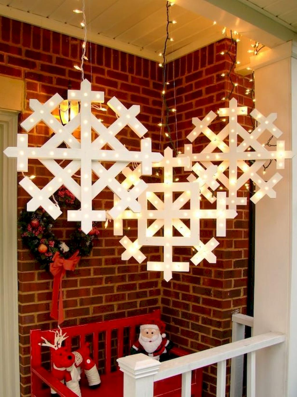 Unbelievable Outdoor Christmas Lights Decoration Ideas